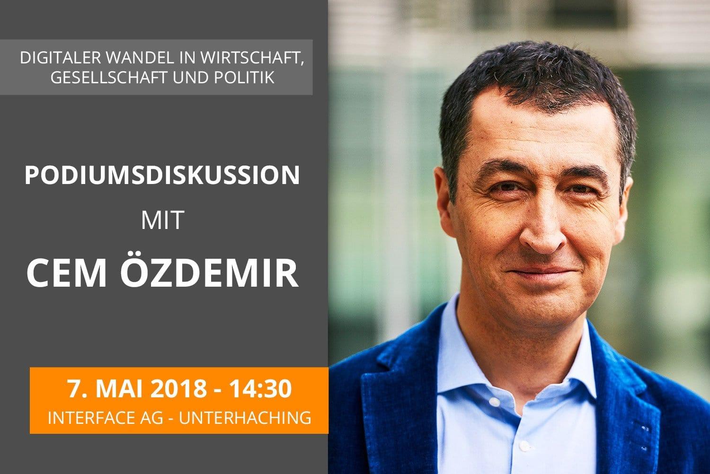 Presse-Einladung zur Podiumsdiskussion mit Cem Özdemir