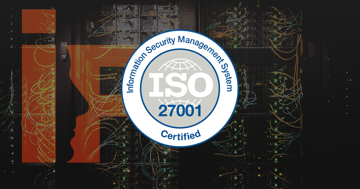 Interface AG - ISO 27001-Zertifikat
