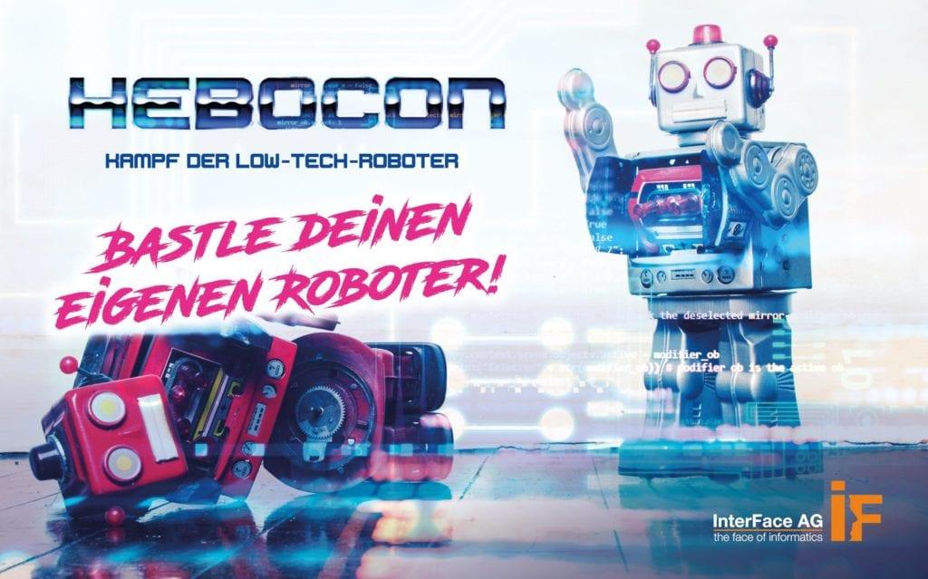 Zusammen mit dem FabLab Oberland veranstaltet die Interface AG am Javaland InnovationLab 2020 einen Hebocon-Roboter-Wettkampf.