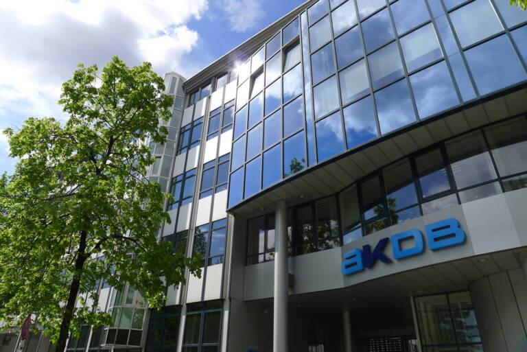 Das AKDB-Hauptgebäude in München