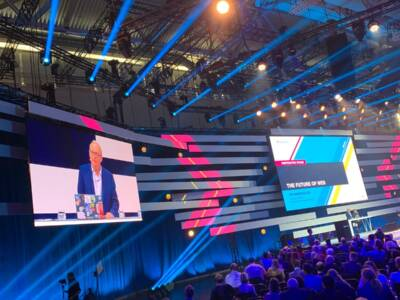Vortrag von Sir Tim Berners-Lee auf der Digital X in Köln