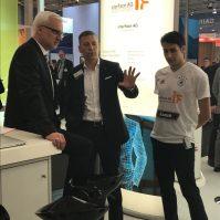 Echte Innovation: Heiko Faure im Dialog mit Garrelt Duin, Wirtschaftsminister des Landes NRW.